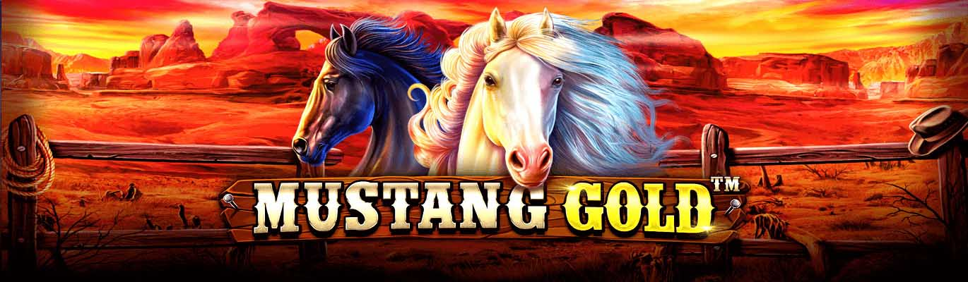 Conquer wild reels of Mustang Gold slots