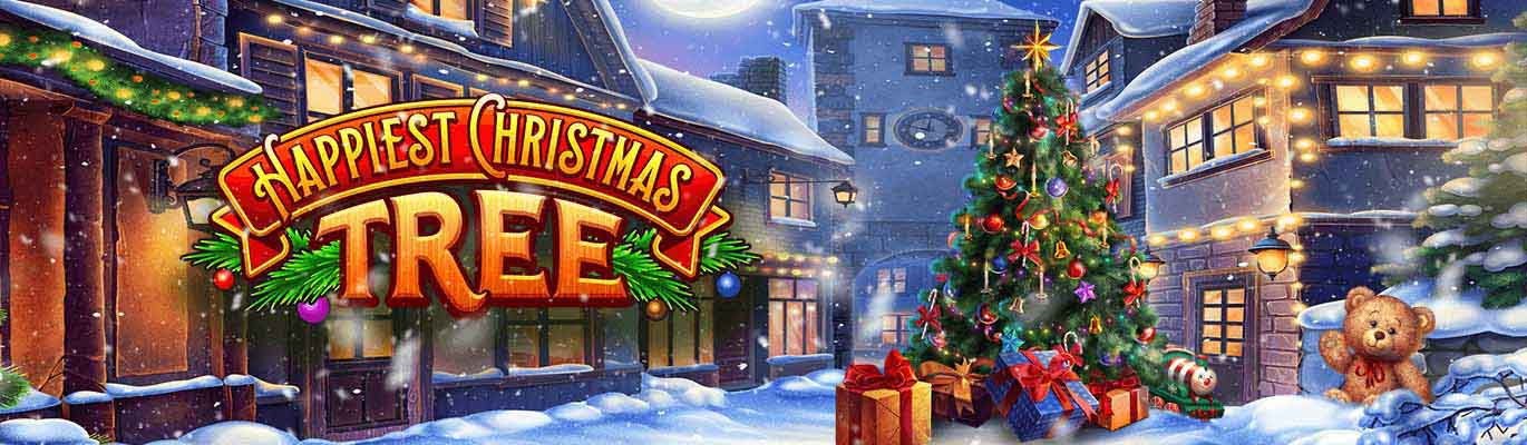 Happiest Christmas Tree slots – it's time to be the happiest one!
