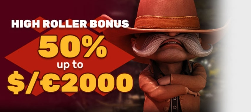 Playamo High Roller Bonus