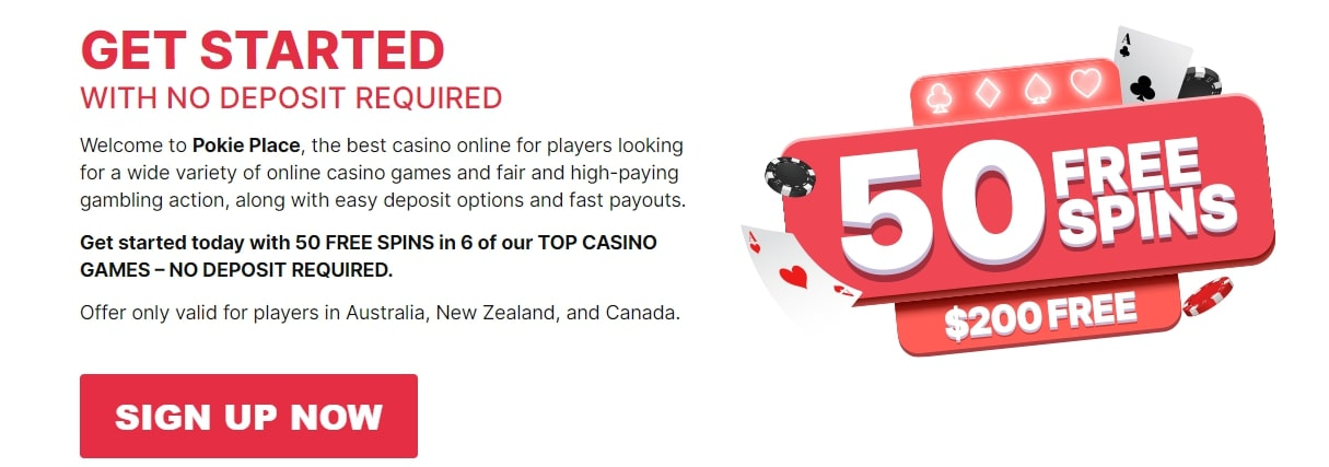 Promotions on Pokie Place
