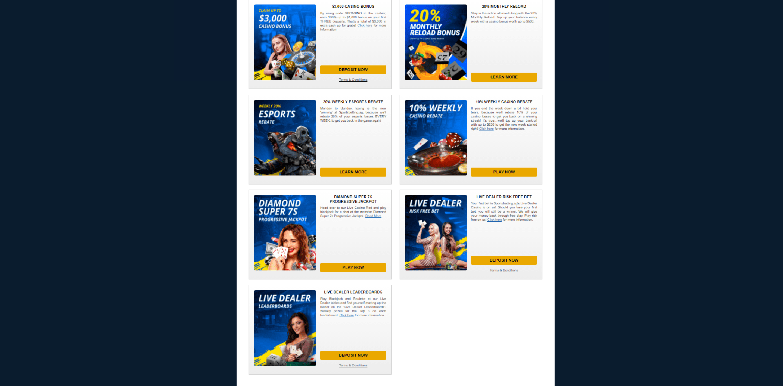 Sportsbetting.ag casino bonuses