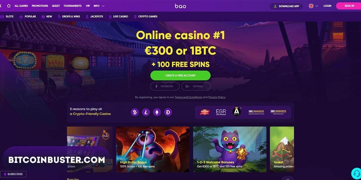 bao casino homepage