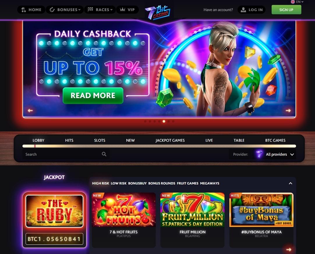 homepage 7bit casino