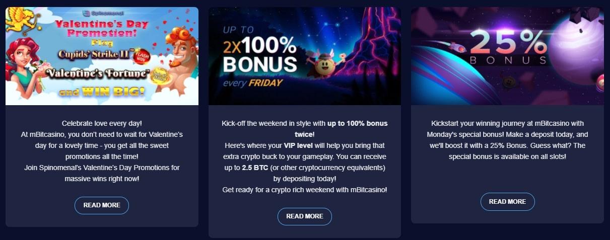 Regular Promotion, Deposit Bonus, and Free Spins