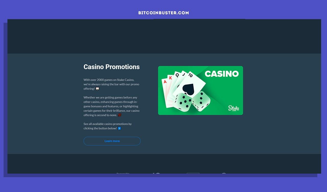 stake gambling bonuses