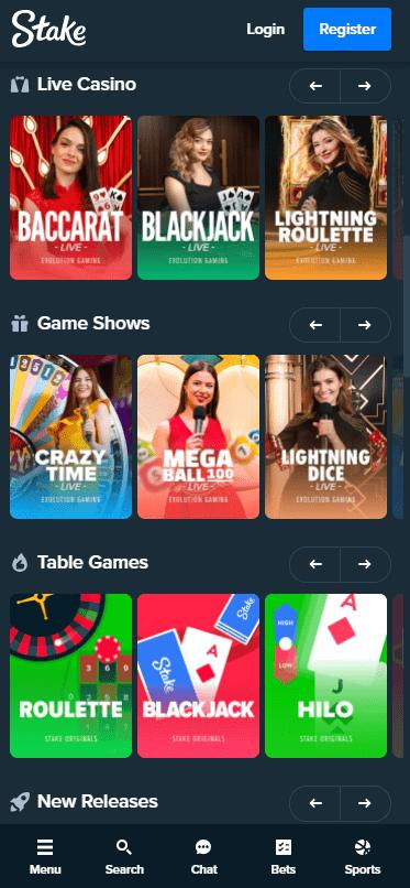 stake.com mobile